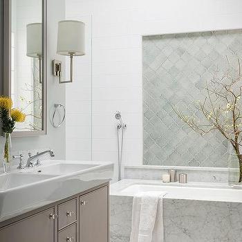 Walker Zanger Contessa Arabesco, Contemporary, Bathroom