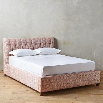 Patterned Tufted Lena Bed, Wilcox
