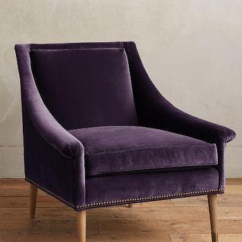 Velvet Tillie Armchair