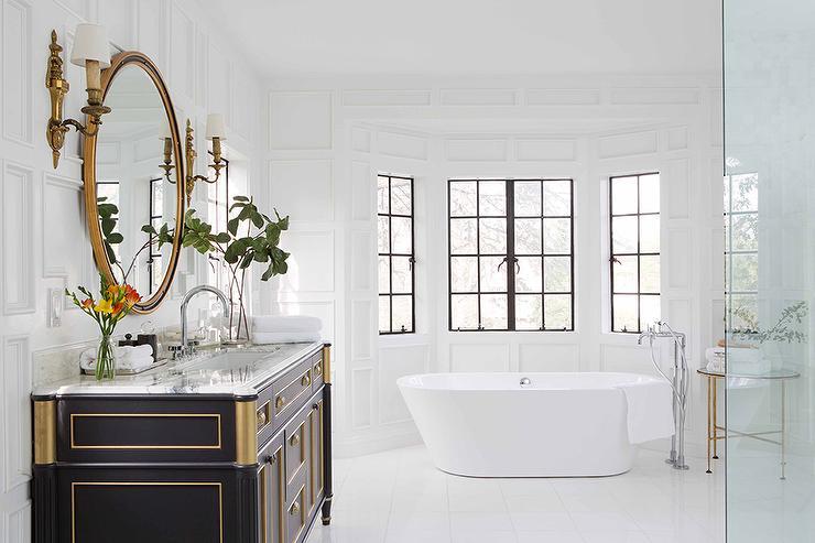 Framed  Bathroom Mirrors  Bath  The Home Depot