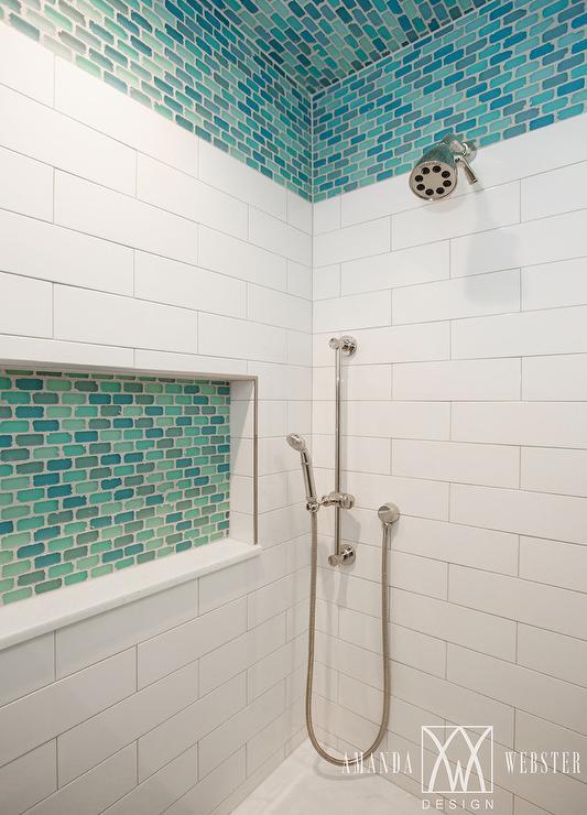 Shower ceiling tile
