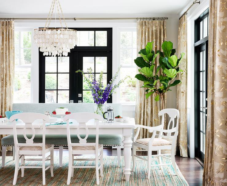 Settee dining room