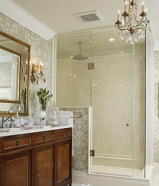 Delightful Wallpaper For Bathrooms