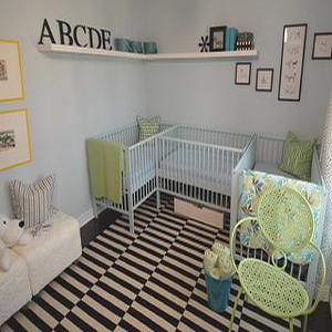 Triplets Nursery Design Ideas