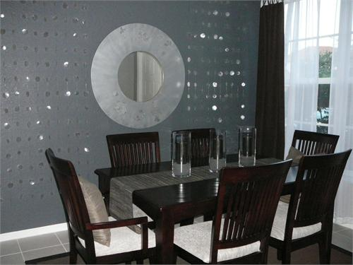 Dining room for Dining room grey walls