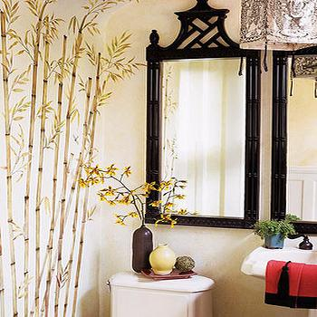 Asian, bathroom