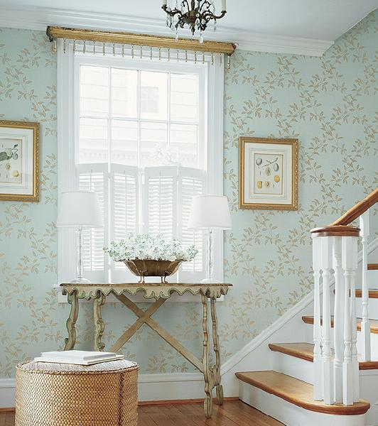 Foyer Wallpaper : Wallpaper for foyer design ideas