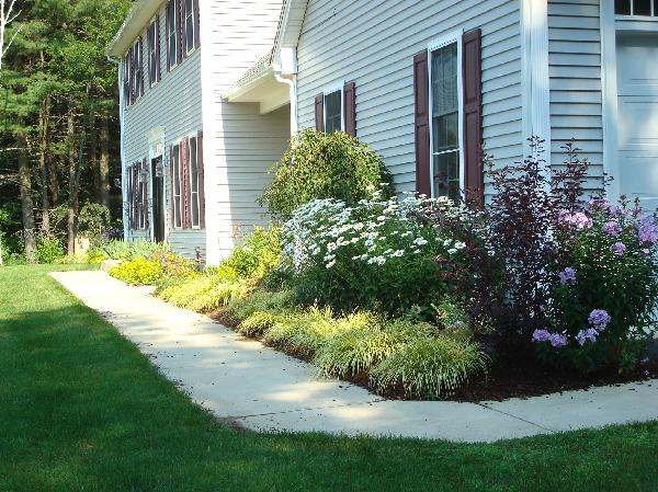 Garden for Flower beds in front of house