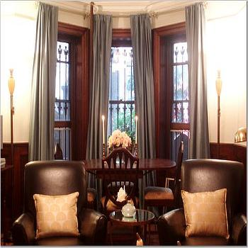 Dining Room Bay Window, Transitional, living room, Teresa Meyer Interiors