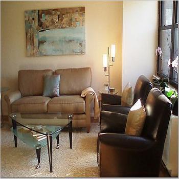 Taupe Sofa, Transitional, living room, Teresa Meyer Interiors