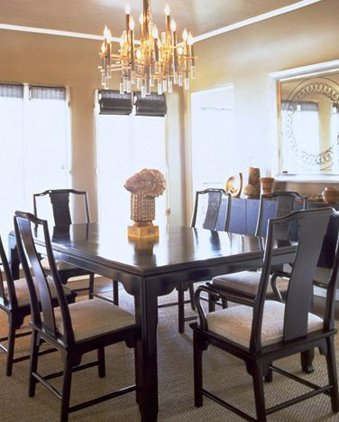 Chinoiserie Dining Room - Asian - dining room - Kelly Wearstler