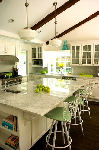Sloped Kitchen Ceiling Design Ideas