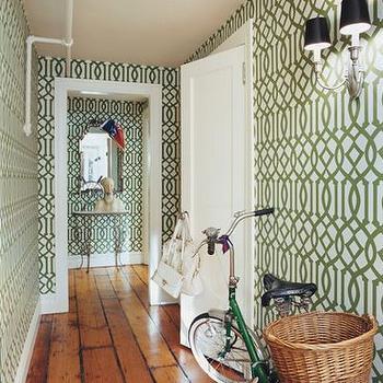 Wallpaper for Foyer, Cottage, entrance/foyer, House & Garden