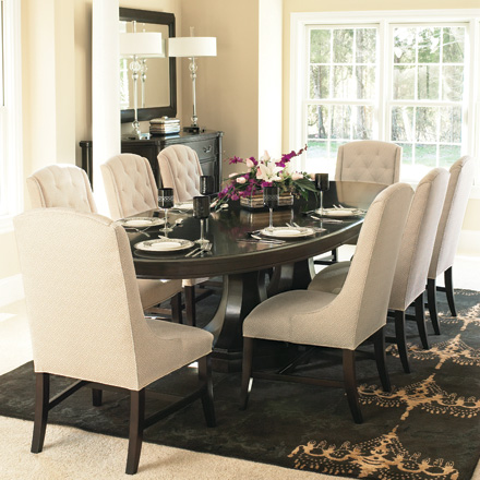 Miscellaneous for White oval dining room table