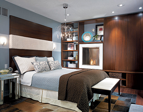 Candice olson design ideas for Brown and blue bedroom ideas