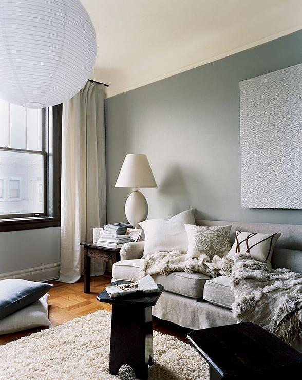 Ralph Lauren Forde Abbey Contemporary Living Room Ralph Lauren Forde Abbey Domino Magazine