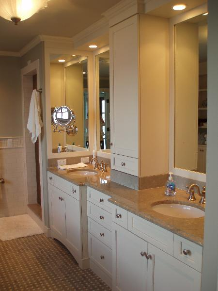 Pistachio marble countertops transitional bathroom - Bathroom ideas photo gallery small spaces ...
