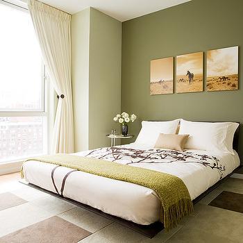 Platform Bed, Transitional, bedroom, Susan Kennedy Design