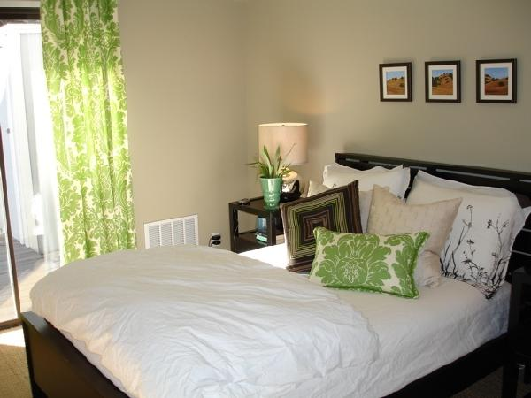 gallery for green and brown bedroom walls