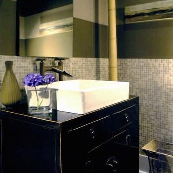 Zen Bathroom Vanity black repurposed bathroom vanity design ideas