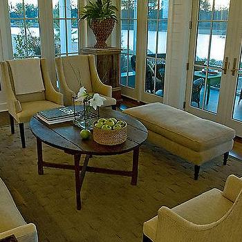 Rustic Coffee Table Design Ideas - Rustic cream coffee table