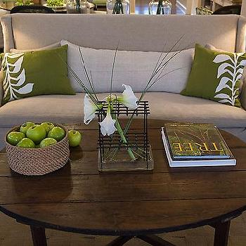 Reclaimed Wood Coffee Table, Cottage, living room, HGTV