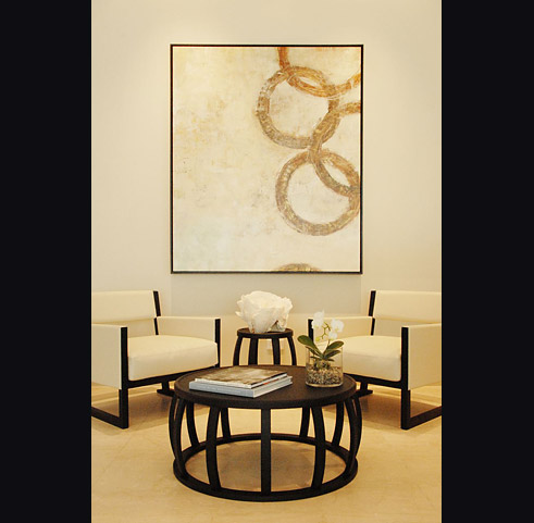 Black And Gold Wall Art room