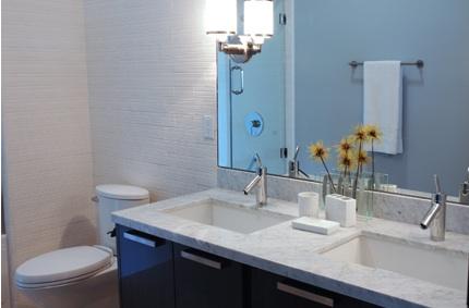 Modern Bathroom Faucets Modern Bathroom Aimee Kim - Colored bathroom fixtures