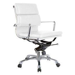 Hooker Furniture Matilda Beige Leather Office Chair