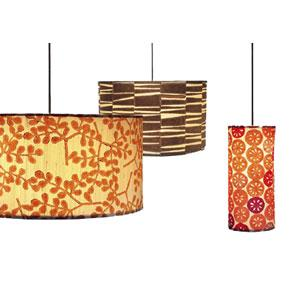 Patterned Small Drum Pendants  Products bookmarks design