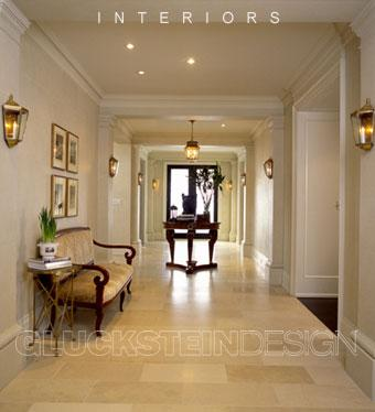 Glucksteindesign Travertine Hallway