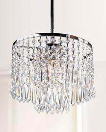 Crystal Pendant Light Fixture