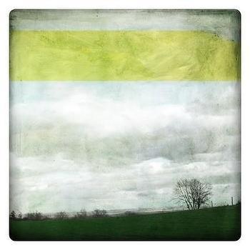 Etsy :: labokoff :: paysage jaune