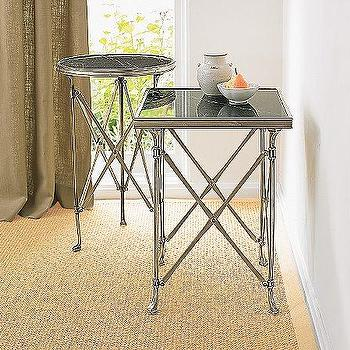 Campaign Side Tables, Coffee & Side Tables, Living Room, Furniture
