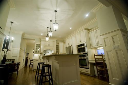 kitchen island lantern transitional kitchen