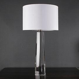 Gabrielle glass base table lamp aloadofball Image collections
