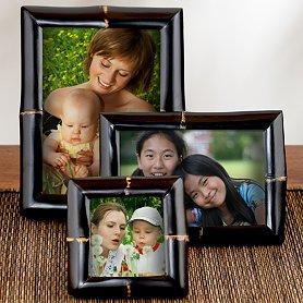 Black Bamboo Frames at World Market