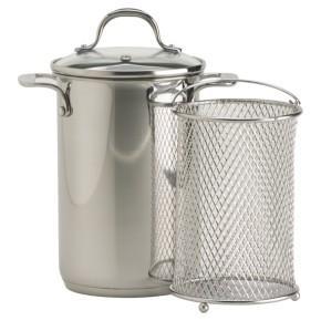 Silver Asparagus Steamer