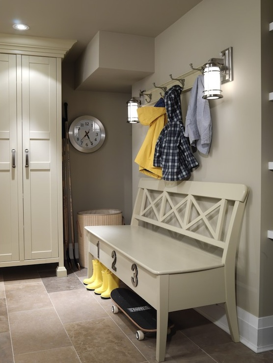 Mud Room Design Cottage Laundry Room Ici Dulux Toast