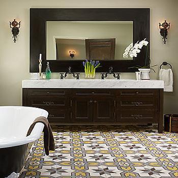 Moroccan Bathroom Decor moroccan tile floor design ideas