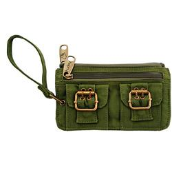 Hurley Tart 'n' Teenie Leaf Green Clutch Purse from Overstock.com