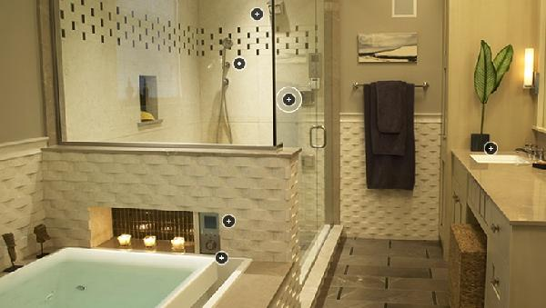 spa like bathroom paint colors basketweave tiles transitional bathroom kohler 24251