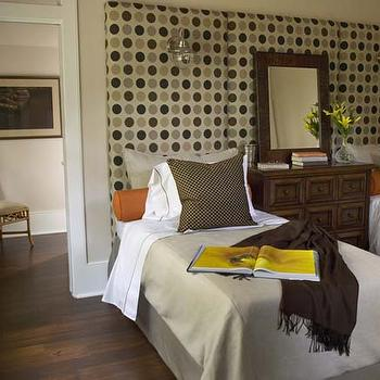 Orange and Tan Boys Room, Cottage, bedroom, Traditional Home