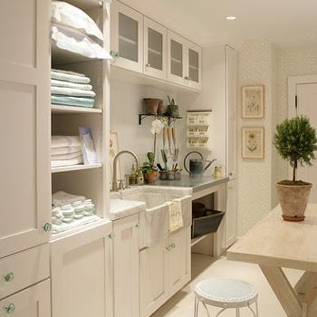 Cottage Laundry Room, Cottage, laundry room, Martha Stewart