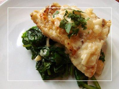 Cocoa and Cheese: Chicken Florentine