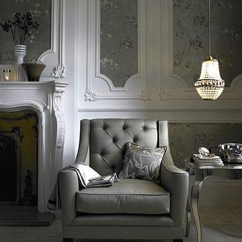 Gray Tufted Chair Design Ideas
