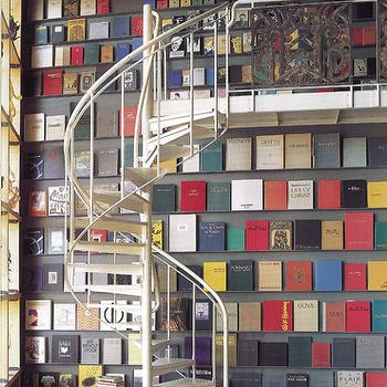 Spiral Staircase, Eclectic, den/library/office