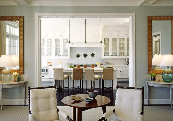 Spindle Chairs Transitional Kitchen Nathan Egan