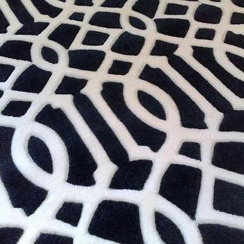 Etsy :: theholm :: Luxurious Trellis Pattern Rug / Carpet