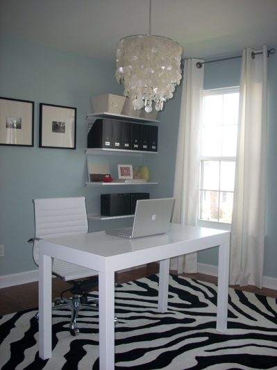 Den Library Office Benjamin Moore Smoke